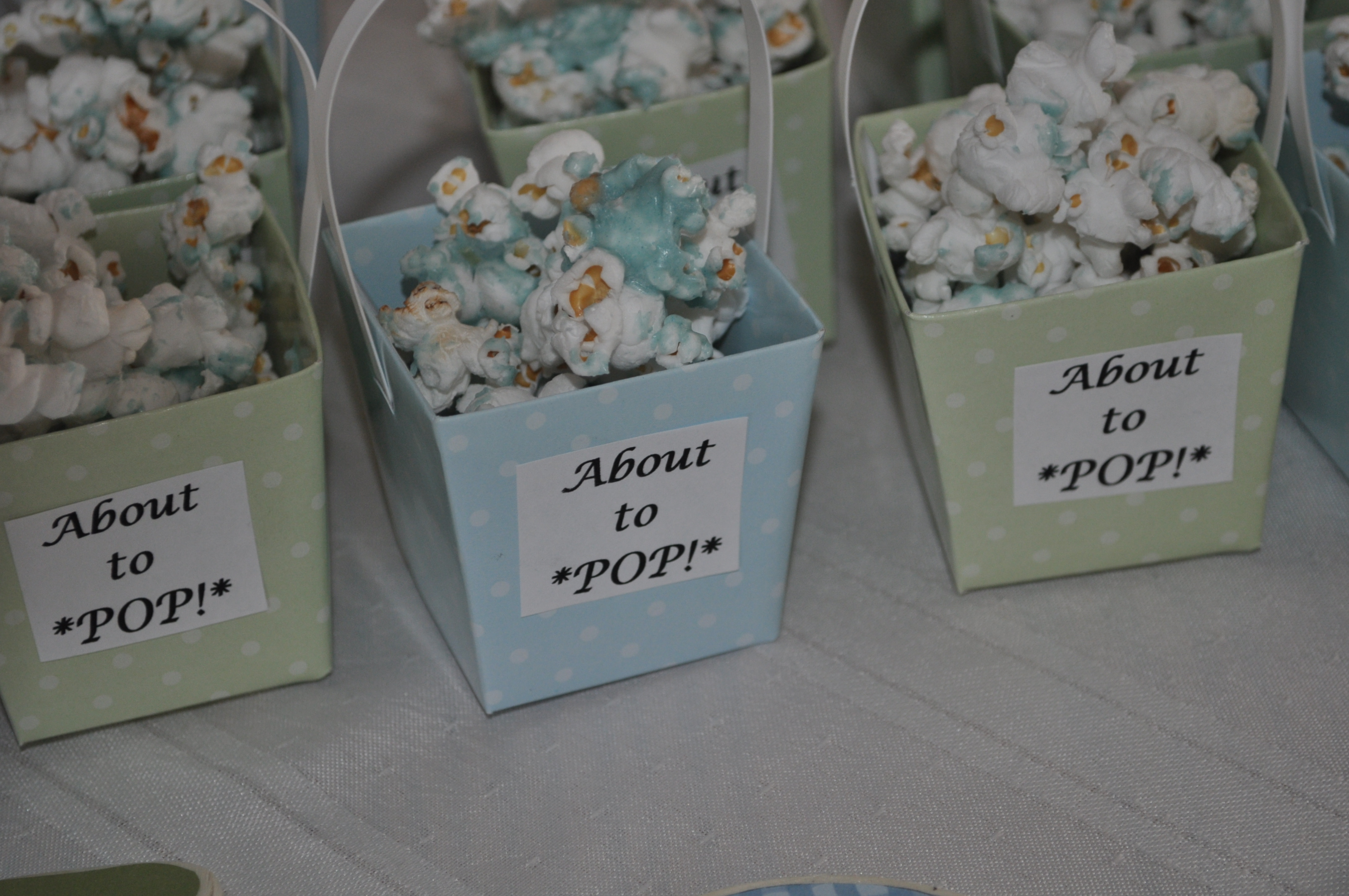 Baby Shower Favors Using Popcorn ~ Beautiful ideas how to make baby shower favors splendid ready pop